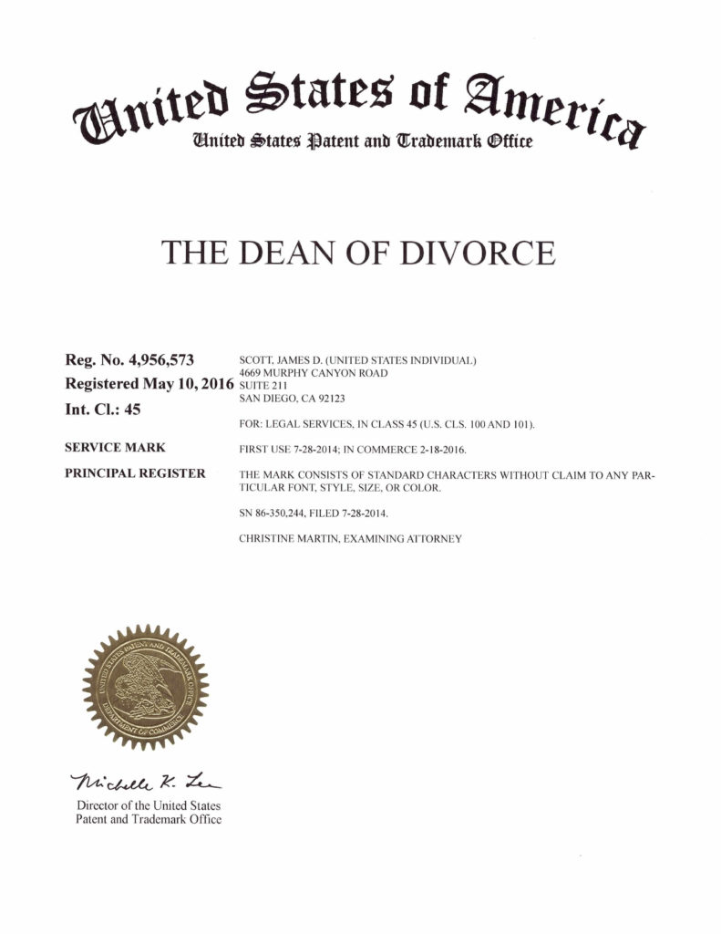 Dean of Divorce